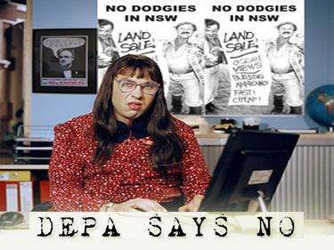 Depa says no – November 2008