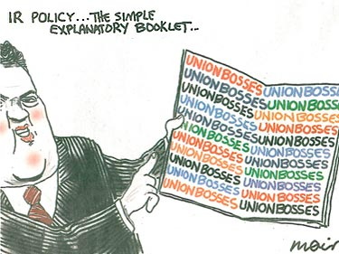IR policy...the simple explanatory booklet cartoon – August 2007